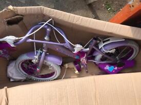 Dawes Princess Girls Bike, 14 Wheel Bike. Brand New Boxed. RRP£139.99