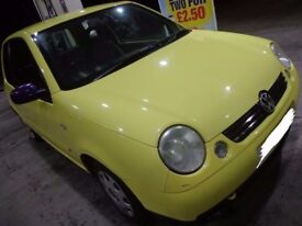 51 reg yellow volkswagon lupo 1.4s good runner DRIVEAWAY OR DELIVERY