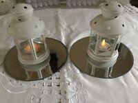 14 Ikea Cream Lanterns (Used for Daughters Wedding)