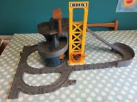Thomas playsets, track pieces, trains and trucks