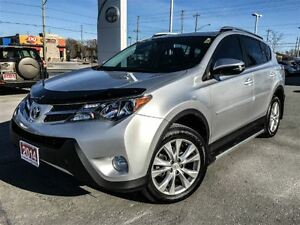 2014 Toyota RAV4 LIMITED TECH PKG!!! VANDERMEER SERVICED!