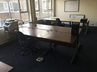 Office chairs and desks job lot