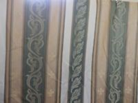 A pair of Montgomery Pencil Pleat & Lined Lounge Curtains in Very Good Condition.
