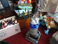 blue and silver dyson in good working order can see it working be for you buy it look