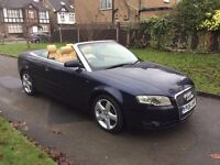 Audi A4 Cabriolet 3.0 TDI Sport Tiptronic Quattro 2dr£5,999 p/x welcome SAT NAV , FREE WARRANTY