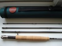 HARDY JET FLY ROD 9ft #6 weight. Unused as new in original packaging. Retail now £399 will sell £300