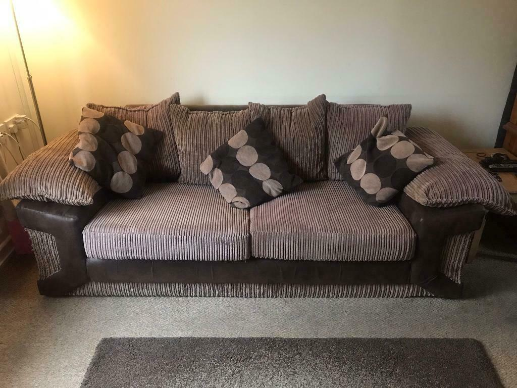 3 seater and two seater sofa | in Eastbourne, East Sussex ...