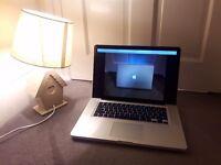 "Macbook Pro, 15"" 8GB, 749GB - great condition"