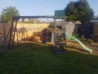 Swing set for sale ex conditionl,
