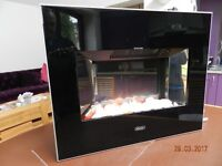 Dimplex 2kW Electric Wall Mounted Fire with glow effect