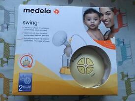 Medela swing breast pump with bags