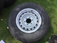 ISUZU NEW STEEL WHEEL 16 INCH NEW BRIDGESTONE TYRE