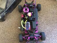 Nitro RC car hpi rs4 3sport (modified)