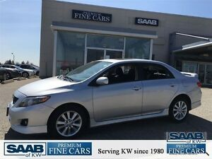 2010 Toyota Corolla S -PKG Alloys Sunroof Power PKG Kitchener / Waterloo Kitchener Area image 1