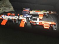 4 Nerf Guns all in good working order
