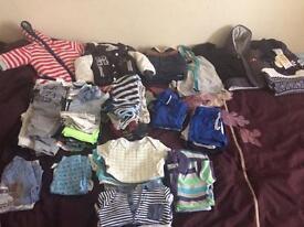 Baby boy clothes 6-9months bundle