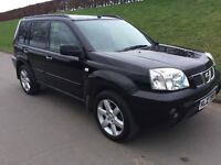 2006 NISSAN X - TRAIL 2.2 d.c.i COLUMBIA # 1 OWNER FROM NEW # LEATHER INTERIOR # PANORAMIC ROOF