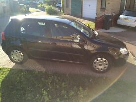 Volkswagen Golf 2006 1.9 TDI, Mark-5, Manual, Black, Air Conditioned