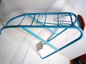 "(1857) NEW, REAR PANNIER RACK BIKE BICYCLE CYCLING, 26"", 27"", 650B, 650C, 700C; MOUNTAIN HYBRID TOWN"