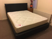 King Size bed and mattress, Both Brand New - ONO