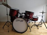 Stagg 5-piece Drum Kit - Excellent Condition