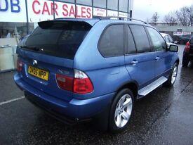 2005 05 BMW X5 3.0 D SPORT 5D AUTO 215 BHP***GUARANTEED FINANCE***PART EX WERLCOME***