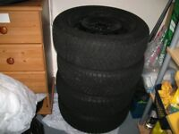 BMW Winter Tyres and Steel Wheels 195/55/R16 for 1 Series (Runflats)