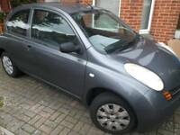 Automatic Nissan Micra 54 plate