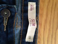 NEXT blue jeans slim size 12R