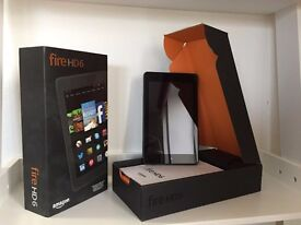 """Amazon Fire HD 6 (6"""" Tablet, 16GB with WiFi, Black + new screen protector)"""