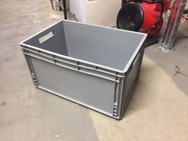 Storage Bin grey large heavy duty 10 available.