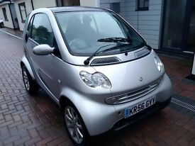2006 Smart Four Two Passion, genuine low mileage, Mot Jan 2018, PX Bargain to clear