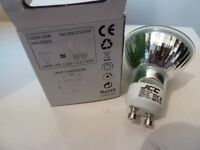 48 GU10 50W HALOGEN LIGHT BULBS