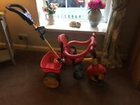 Little Tikes Trike virtually new condition