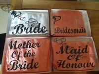 Bridal wedding robes