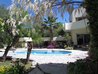 South of France villa, fantastic offer for long winter rent!!