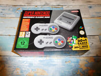 Super Nintendo SNES Mini Classic with 21 built in games BRAND NEW Zelda Mario Metroid Kirby Starfox