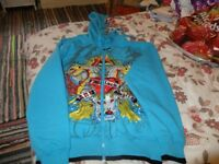 BRAND NEW HOODY WITH DRAGON DESIGN SIZE MEDIUM