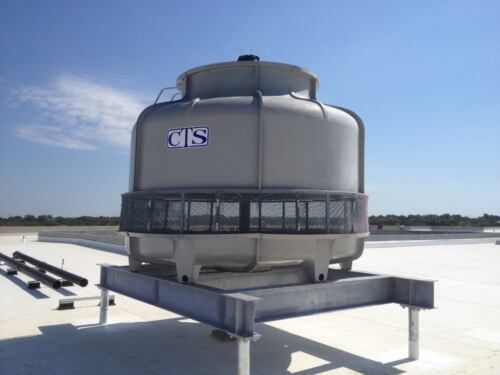 Cooling Tower Model T-2150  150 Nominal Tons based on design of 95/85/75@446 GPM