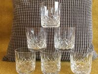 Lismore Crystal Tumbler/Whisky Glass