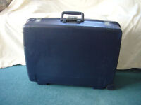 Blue Delsey Hard Shell Suitcase