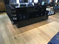 Shop Fit - Large Bespoke Black Formica Table
