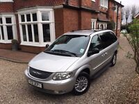 2004 04 Chrysler Grand Voyager 2.5 CRD Limited XS 5dr!! REAR ENTERTAINMENT! NEW CLUTCH FITTED!