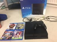 PS4 with 4 games £270 ONO