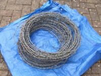 BARBED AND PLAIN WIRE FOR FENCING