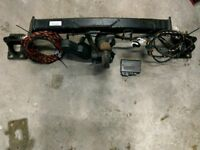 VW Touraeg swing away towbar including wiring and control unit