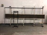 Roof rock and ladder for sale fit vw transporter LWB
