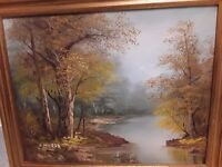 Oil painting c inness