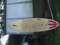 Surfboard - three fin thruster