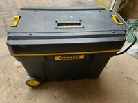 Large Stanley tool chest